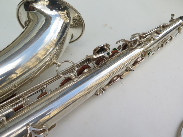 Saxophone tenor Selmer super balanced action argenté (7)