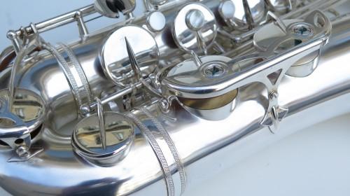 Sax ténor Selmer mark 6 argenté (1)