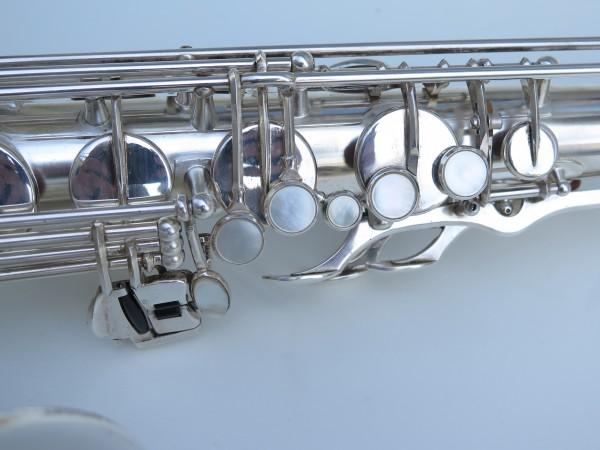 Sax ténor Selmer mark 6 argenté (2)
