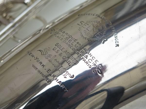 Saxophone baryton Selmer Super balanced action argenté (1)