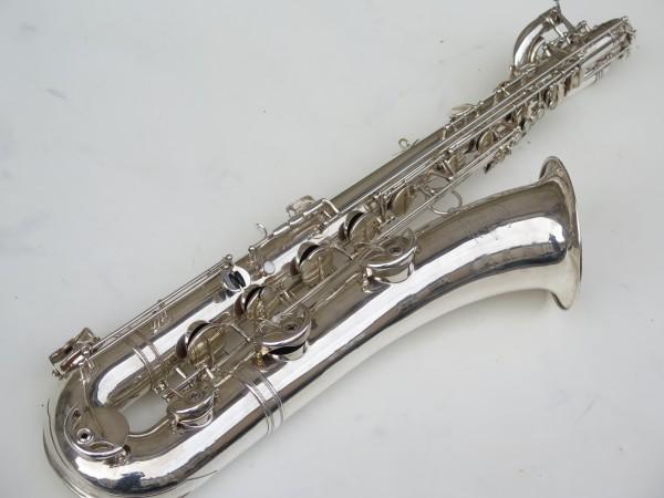 Saxophone baryton Selmer Super balanced action argenté (11)