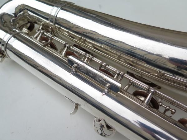 Saxophone baryton Selmer Super balanced action argenté (8)