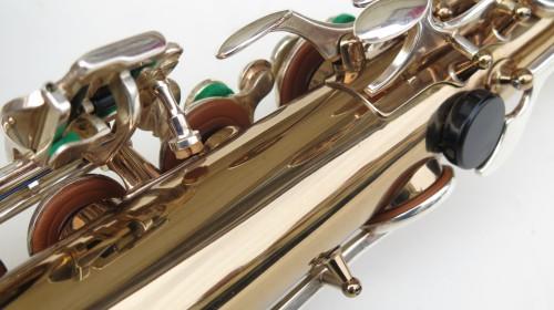 Saxophone ténor Selmer mark 6 verni clétage argenté (1)