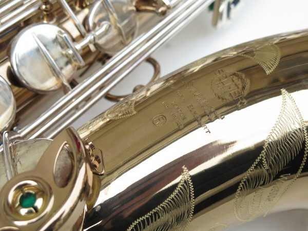 Saxophone ténor Selmer mark 6 verni clétage argenté (2)