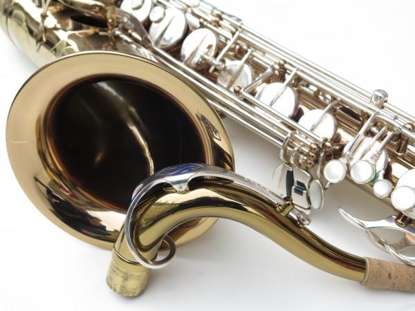 Saxophone ténor Selmer mark 6 verni clétage argenté (6)