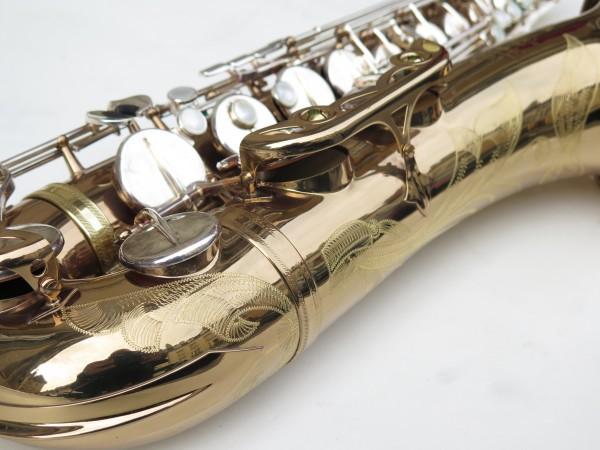 Saxophone ténor Selmer mark 6 verni clétage argenté (7)