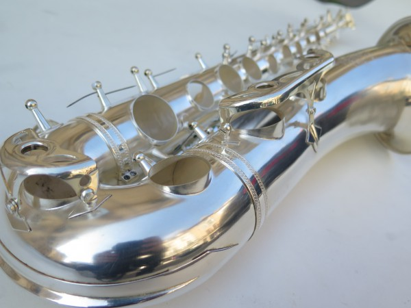 Saxophone tenor Selmer mark 6 argenté (19)
