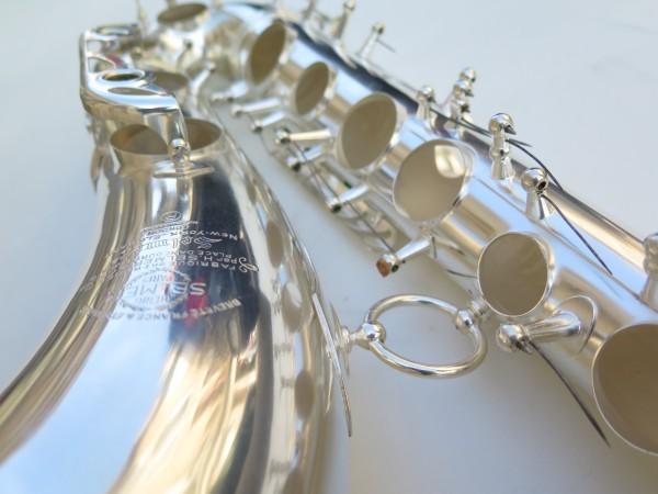 Saxophone tenor Selmer mark 6 argenté (5)