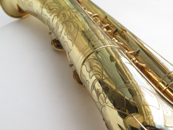 Saxophone baryton Selmer Mark 6 verni gravé (2)