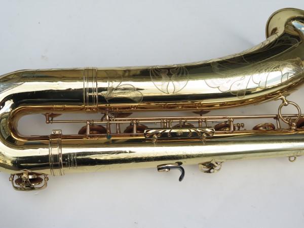 Saxophone baryton Selmer Mark 6 verni gravé (3)