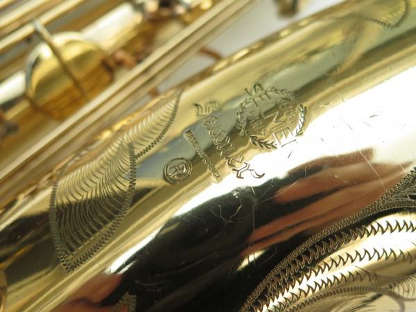 Saxophone baryton Selmer Mark 6 verni gravé (5)