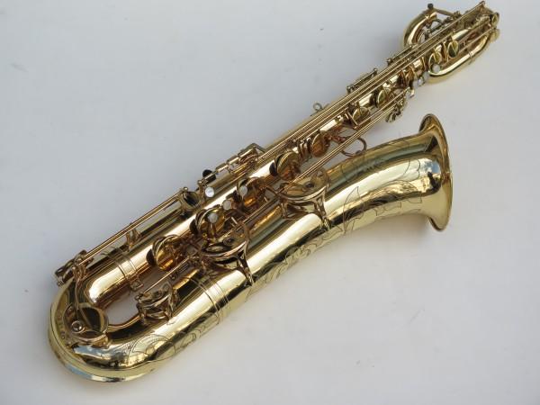 Saxophone baryton Selmer Mark 6 verni gravé (8)