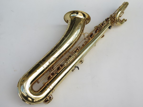 Saxophone baryton Selmer Mark 6 verni gravé (9)