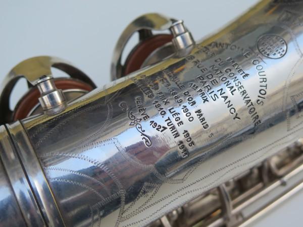 Saxophone alto Antoine Courtois argenté (1)
