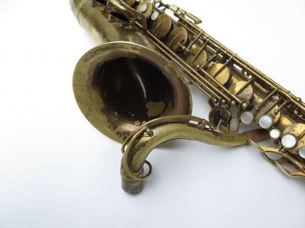 Saxophone ténor Selmer Super Balanced Action verni gravé (10)