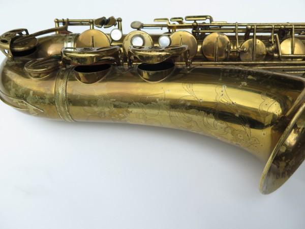 Saxophone ténor Selmer Super Balanced Action verni gravé (11)