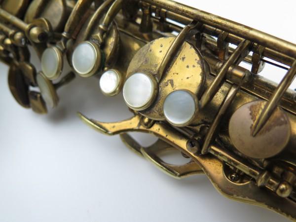 Saxophone ténor Selmer Super Balanced Action verni gravé (12)