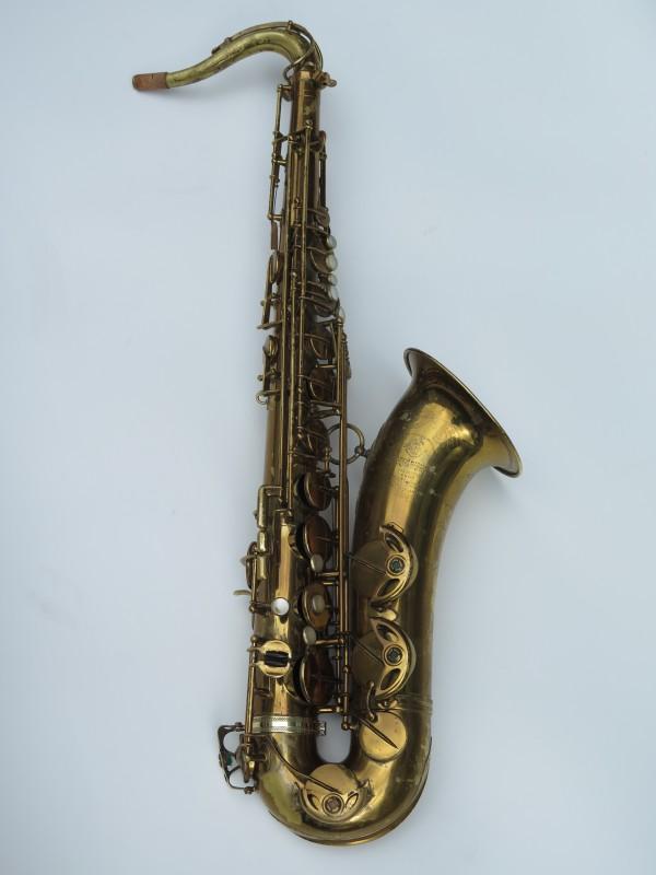 Saxophone ténor Selmer Super Balanced Action verni gravé (2)