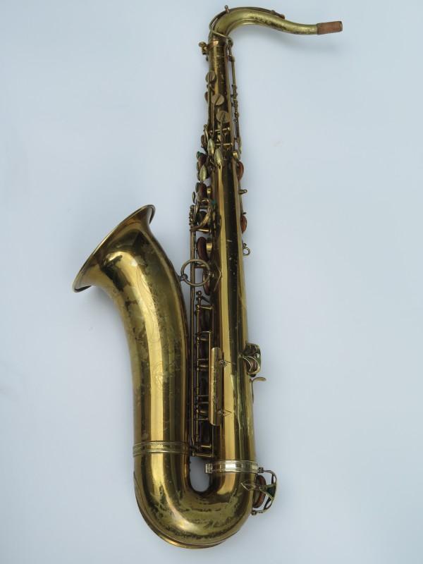 Saxophone ténor Selmer Super Balanced Action verni gravé (3)