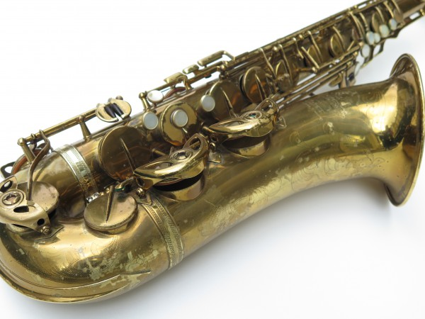 Saxophone ténor Selmer Super Balanced Action verni gravé (4)