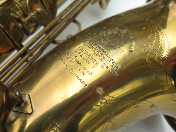 Saxophone ténor Selmer Super Balanced Action verni gravé (5)