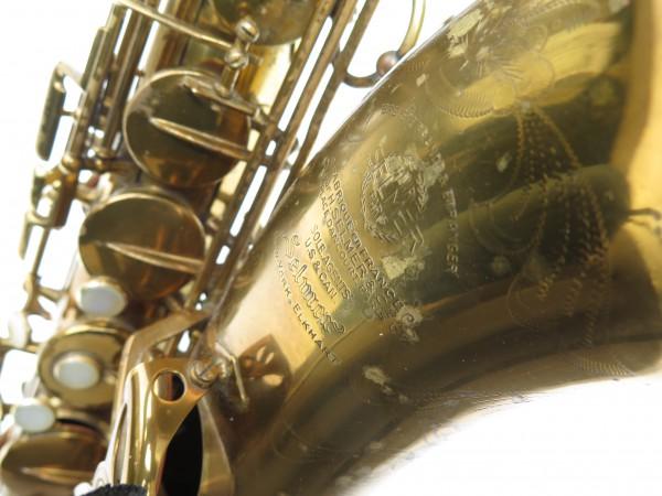 Saxophone ténor Selmer Super Balanced Action verni gravé (7)