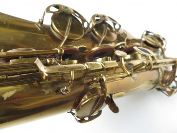 Saxophone ténor Selmer Super Balanced Action verni gravé (8)