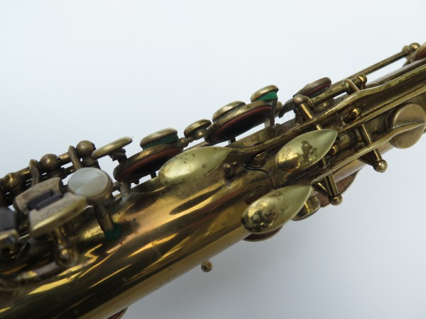 Saxophone ténor Selmer Super Balanced Action verni gravé (9)