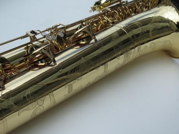 Saxophone basse Selmer mark 6 verni gravé (1)