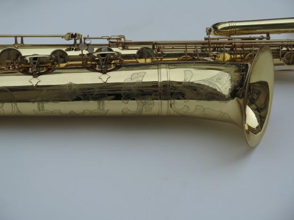 Saxophone basse Selmer mark 6 verni gravé (10)