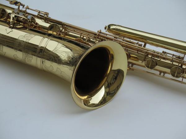 Saxophone basse Selmer mark 6 verni gravé (11)