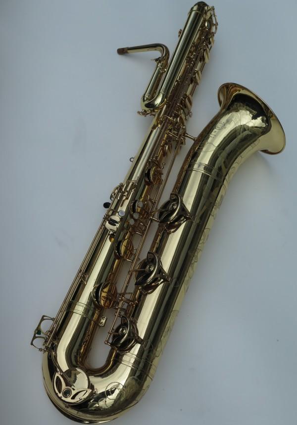 Saxophone basse Selmer mark 6 verni gravé (13)