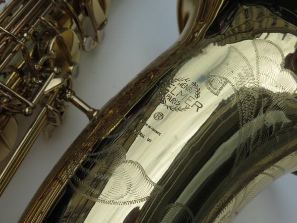 Saxophone basse Selmer mark 6 verni gravé (14)