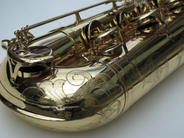 Saxophone basse Selmer mark 6 verni gravé (2)