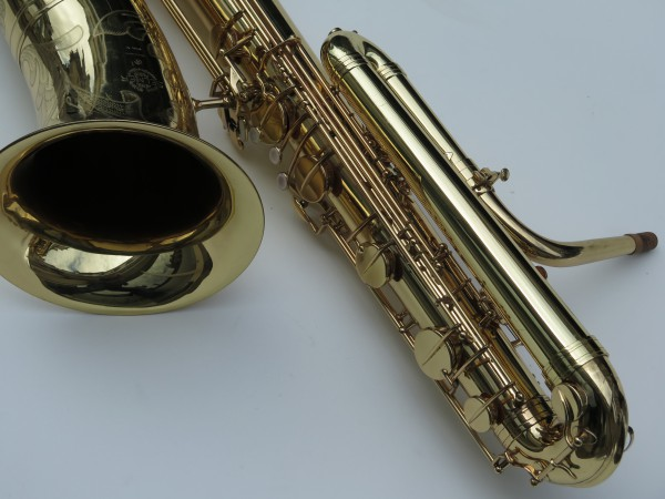 Saxophone basse Selmer mark 6 verni gravé (3)