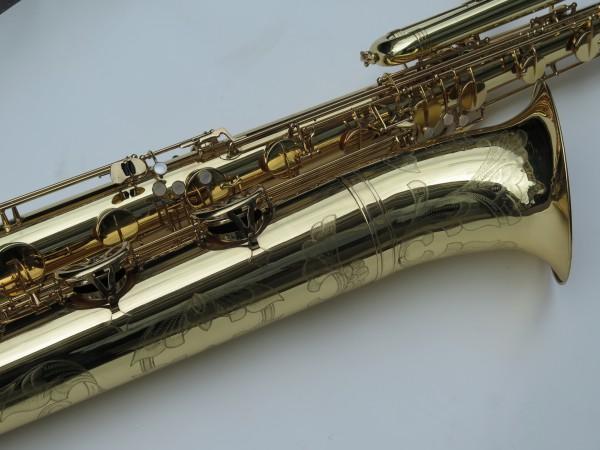 Saxophone basse Selmer mark 6 verni gravé (5)