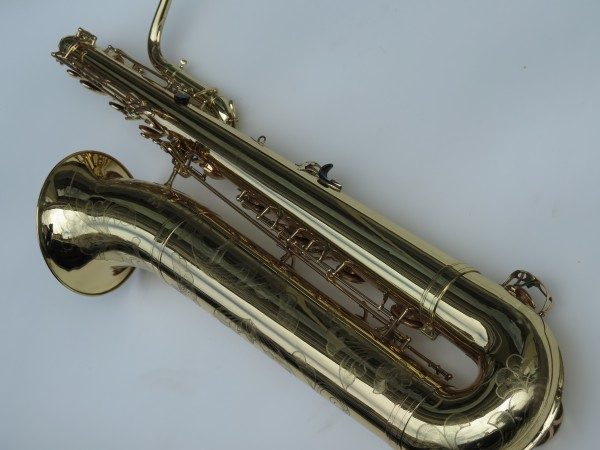 Saxophone basse Selmer mark 6 verni gravé (6)