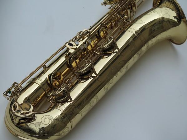 Saxophone basse Selmer mark 6 verni gravé (9)