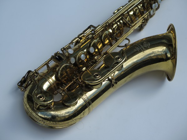 Saxophone ténor Selmer mark 6 verni permagold (1)