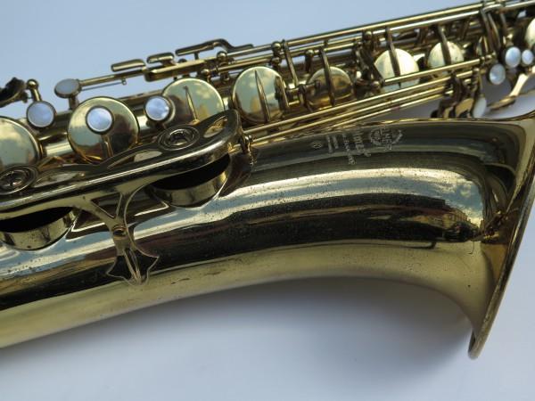 Saxophone ténor Selmer mark 6 verni permagold (4)