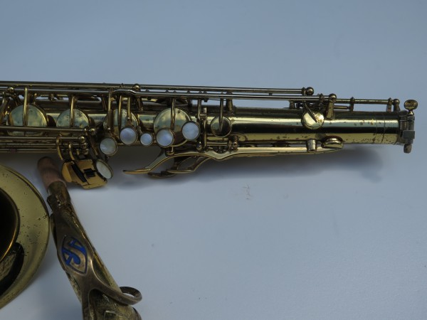 Saxophone ténor Selmer mark 6 verni permagold (6)