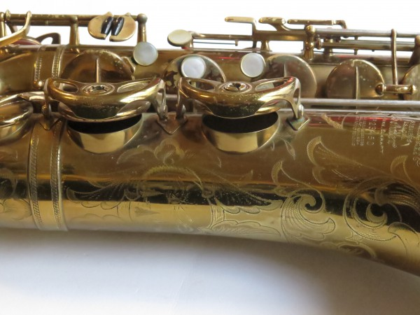 Saxophone ténor Selmer Balanced Action verni gravé (14)