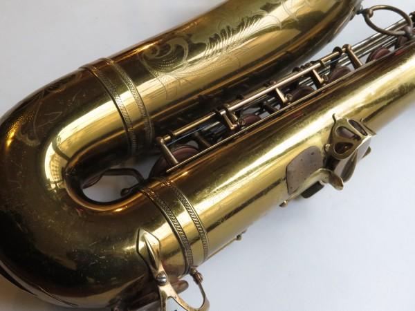 Saxophone ténor Selmer Balanced Action verni gravé (22)