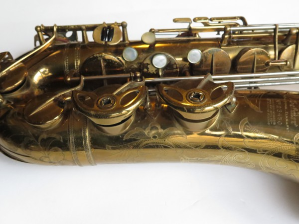 Saxophone ténor Selmer Balanced Action verni gravé (4)