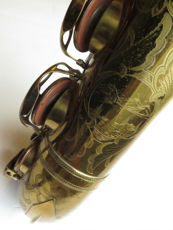 Saxophone ténor Selmer Balanced Action verni gravé (8)