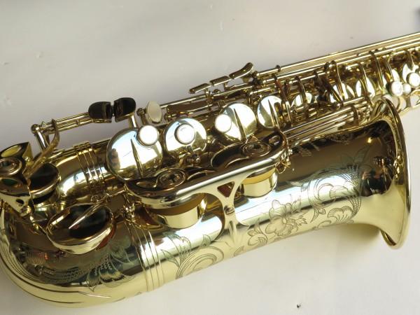 Saxophone alto Selmer Série 3 verni gravé (1)