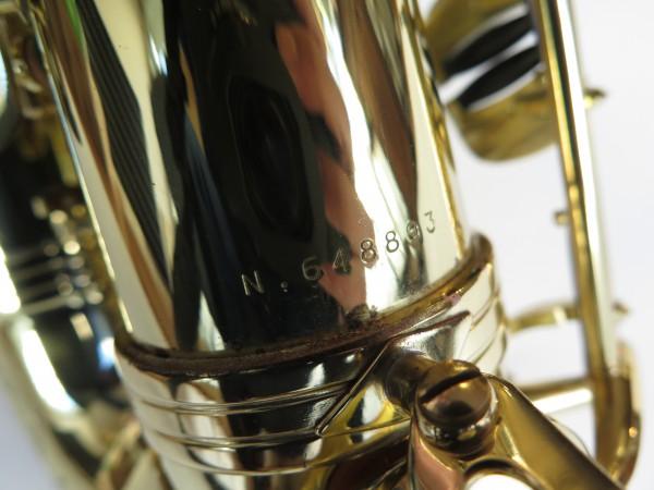 Saxophone alto Selmer Série 3 verni gravé (12)