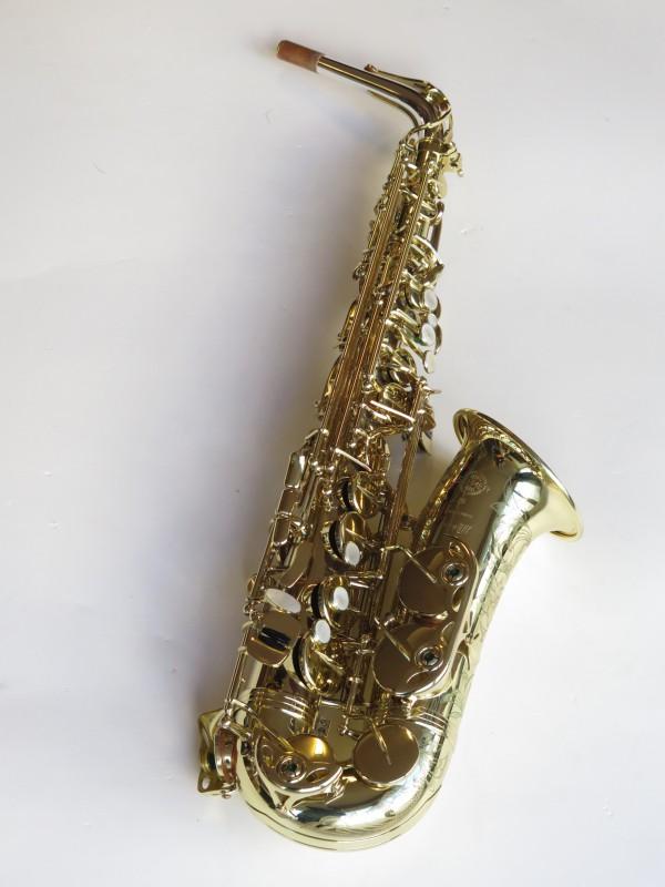 Saxophone alto Selmer Série 3 verni gravé (13)