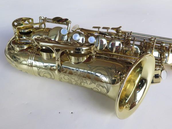 Saxophone alto Selmer Série 3 verni gravé (2)