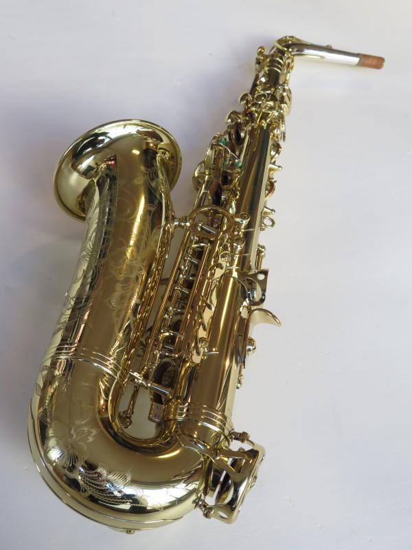 Saxophone alto Selmer Série 3 verni gravé (3)